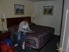 Astrid im Motel in Livingston