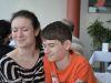 Franziska und Andreas bei der Geburtstagsfeier