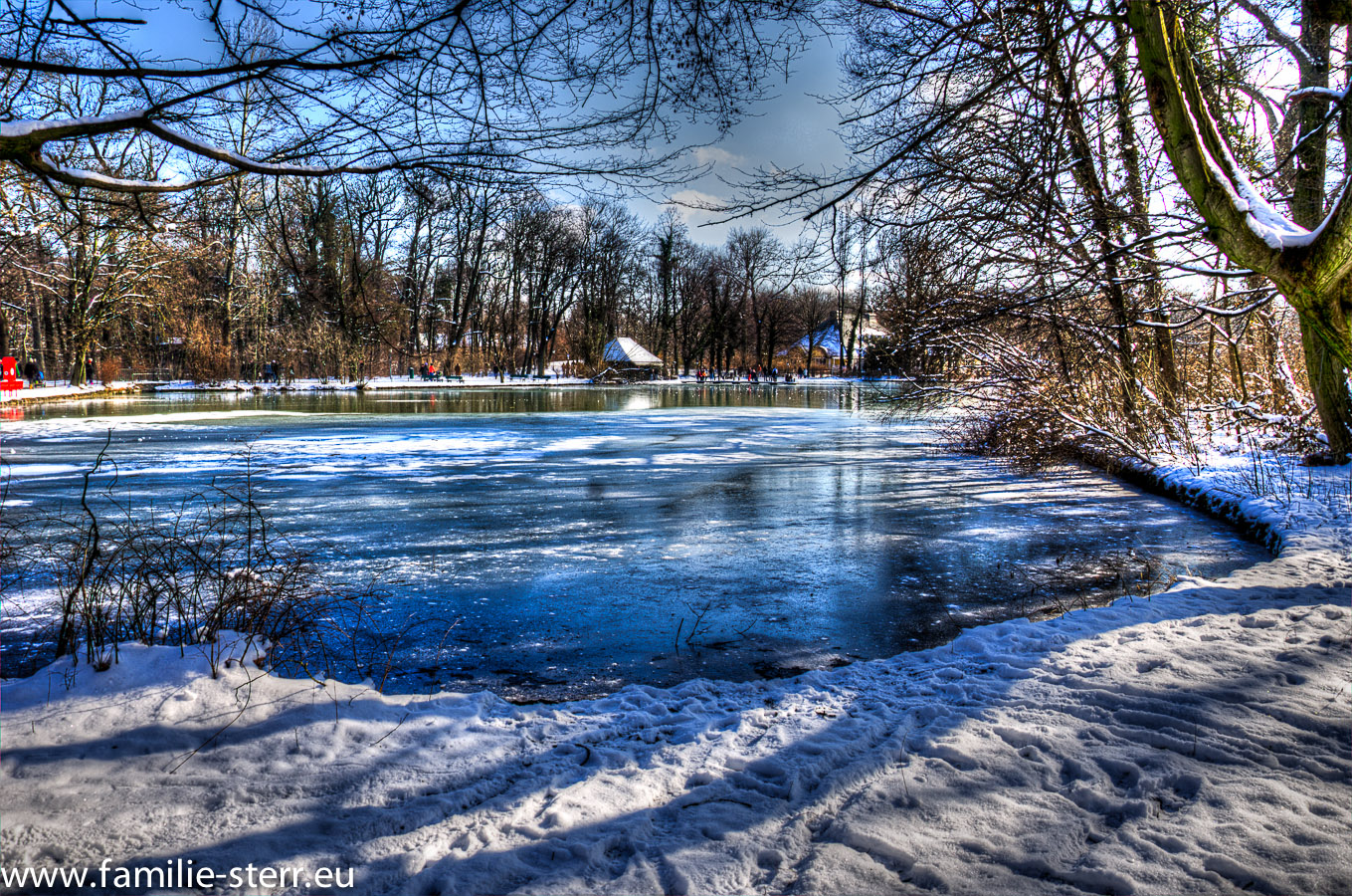 hdr spielereien englischer garten im winter feb 2013 familie sterr. Black Bedroom Furniture Sets. Home Design Ideas