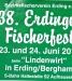 Plakat zum Fischerfest 2012