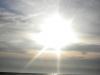 Sonne über dem Atlantik