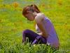 Melanie Sterr im Stadtpark Pasing