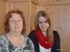 Astrid und Melanie im Schweizer Hof