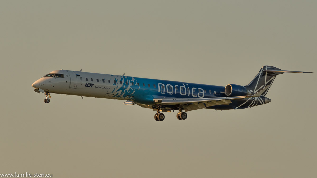 LOT nordica Canadair CRJ900