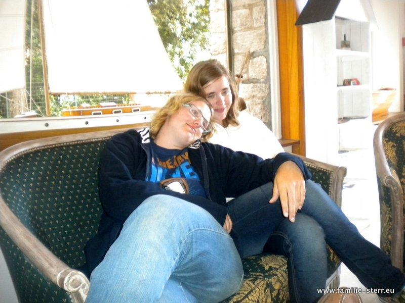 Katharina und Melanie auf Noirmoutier