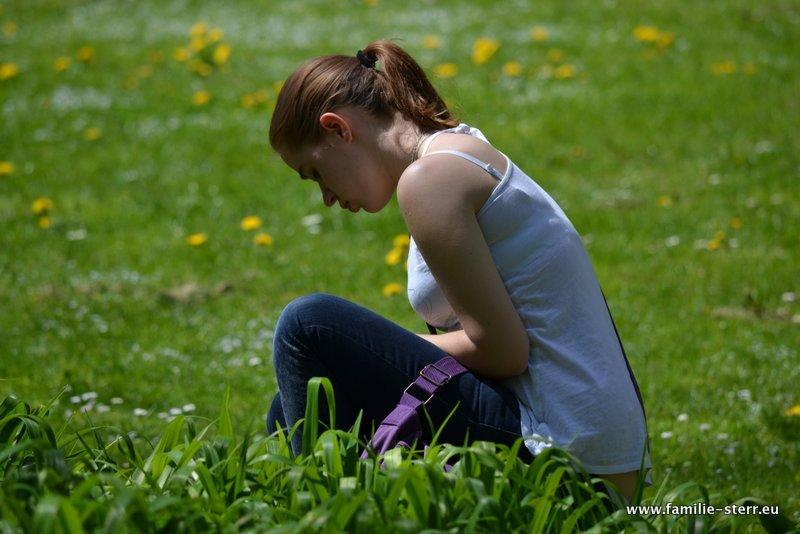 Melanie Sterr im Pasinger Stadtpark