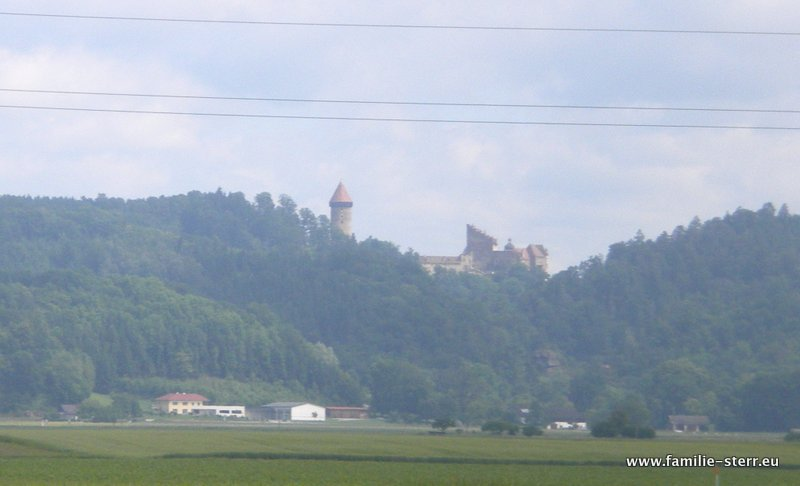 Burg Clam von Saxena aus
