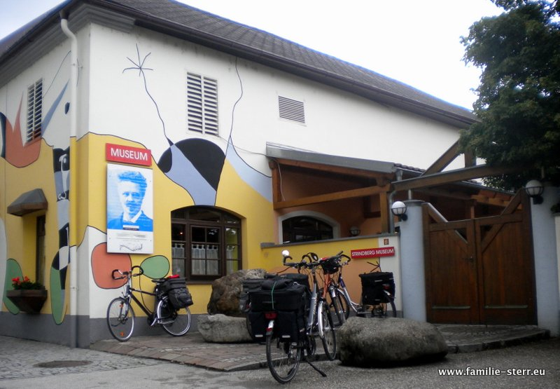 Strindberg Museum in Saxen