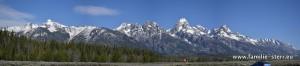 Die Teton - Range im Grand Teton N. P.
