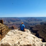 Katharina Sterr am Grand Canyon