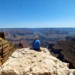Katharina Sterr am Grand Canyon