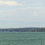 Panoramaaufnahme vom Starnberger See
