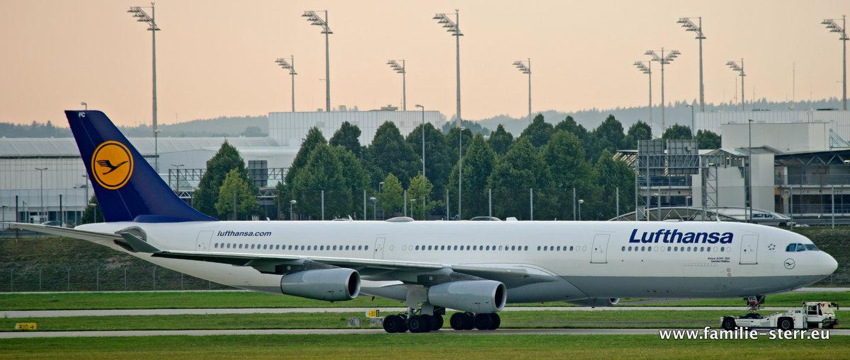 "Lufthansa Airbus A340-300 ""Gander"""