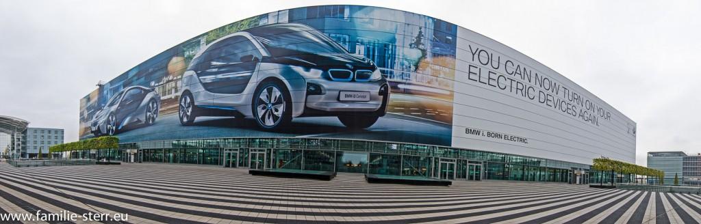 Eingangsbereich Terminal 2 am Flughafen München