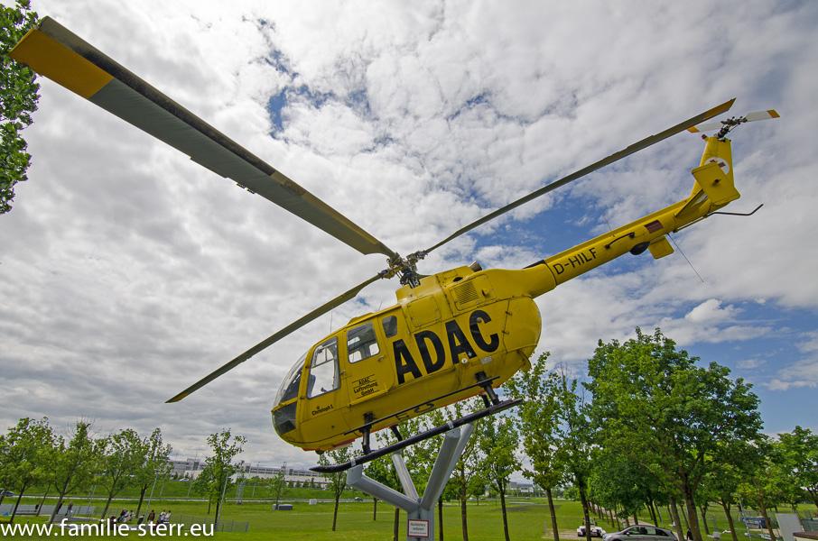 BO 105 ADAC Rettungshubschrauber Christoph im Besucherpark