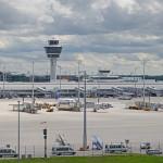 Flughafenpanorama