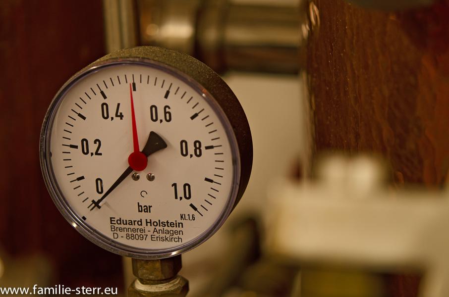 Moserbauer Mitterkirchen / Detailaufnahme Destillerie