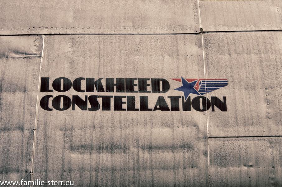 Super Constellation im Besucherpark am Flughafen München