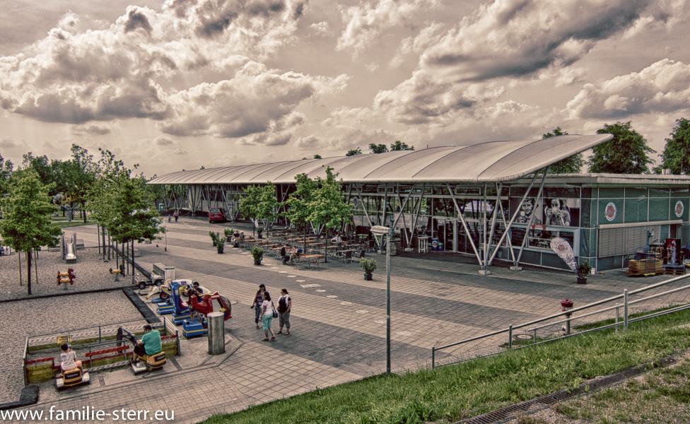 Tante Ju's im Besucherpark Flughafen München