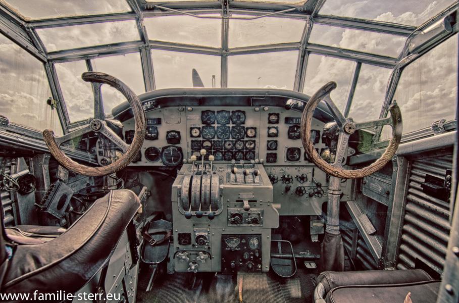 Cockpit Junkers Ju 52 - Tante Ju