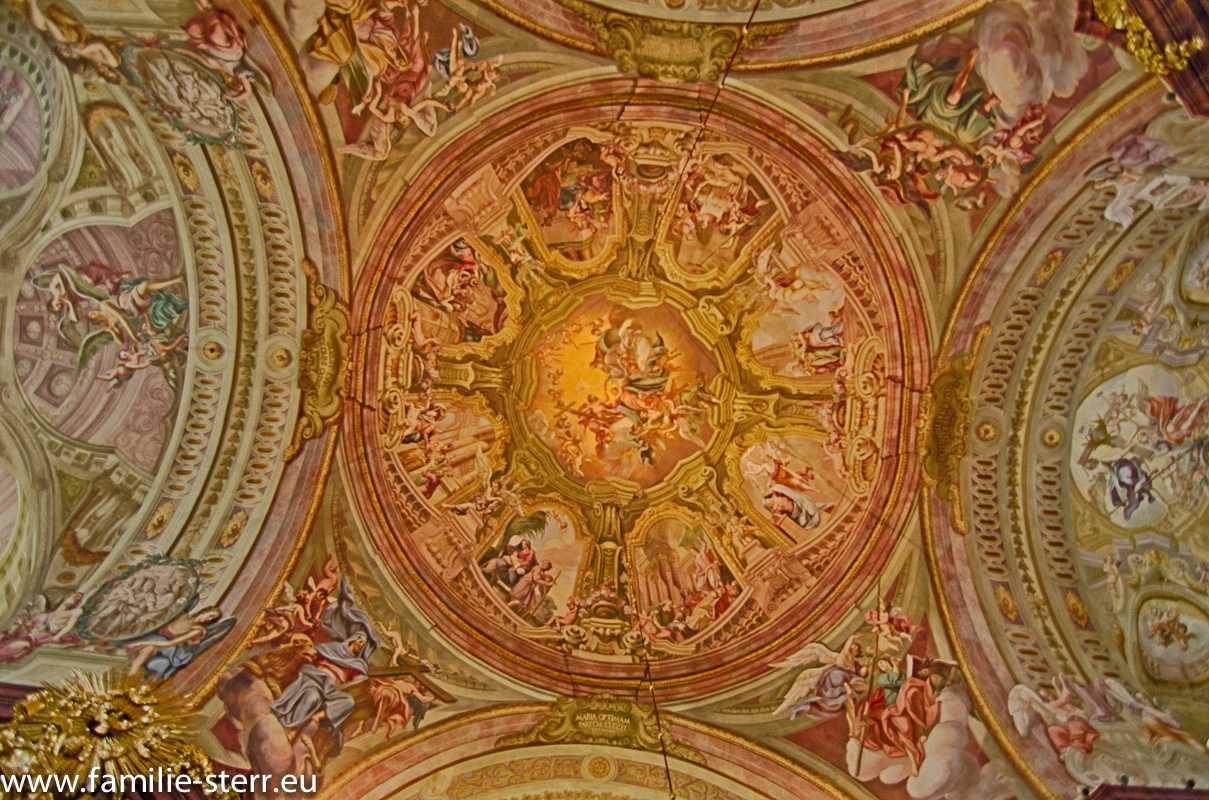 Deckengemälde Wallfahrtskirche Maria Taferl an der Donau