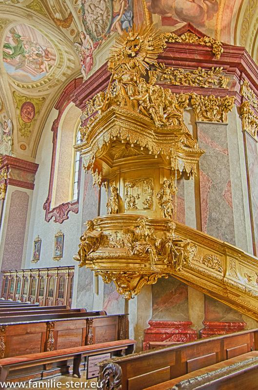Kanzel Wallfahrtskirche Maria Taferl an der Donau