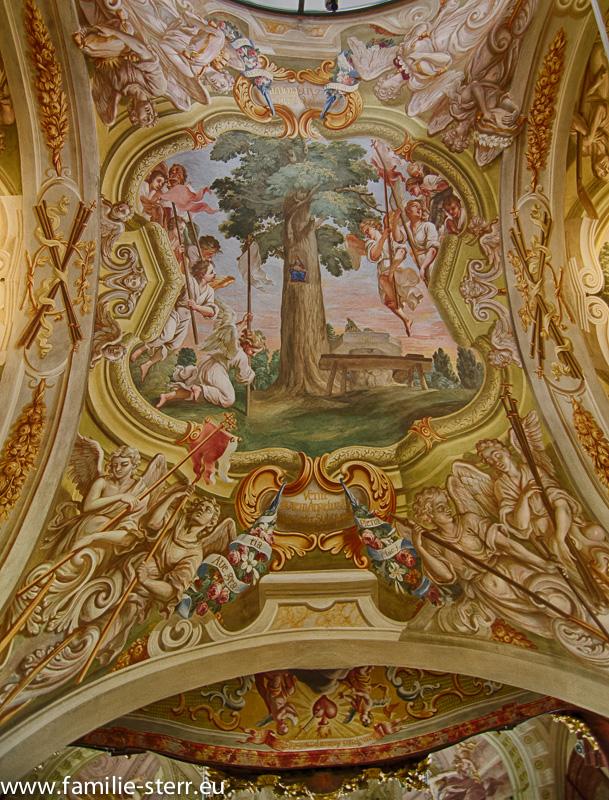 Deckenfresko Wallfahrtskirche Maria Taferl an der Donau