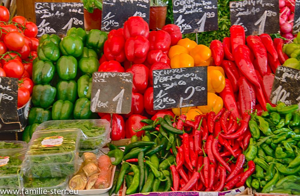 Paprika - Naschmarkt in Wien