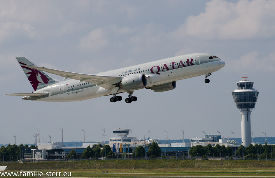 Qatar Boeing B787 Dreamliner
