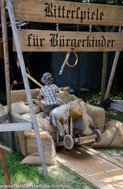 Nachwuchsritter - Kaltenberger Ritterturnier