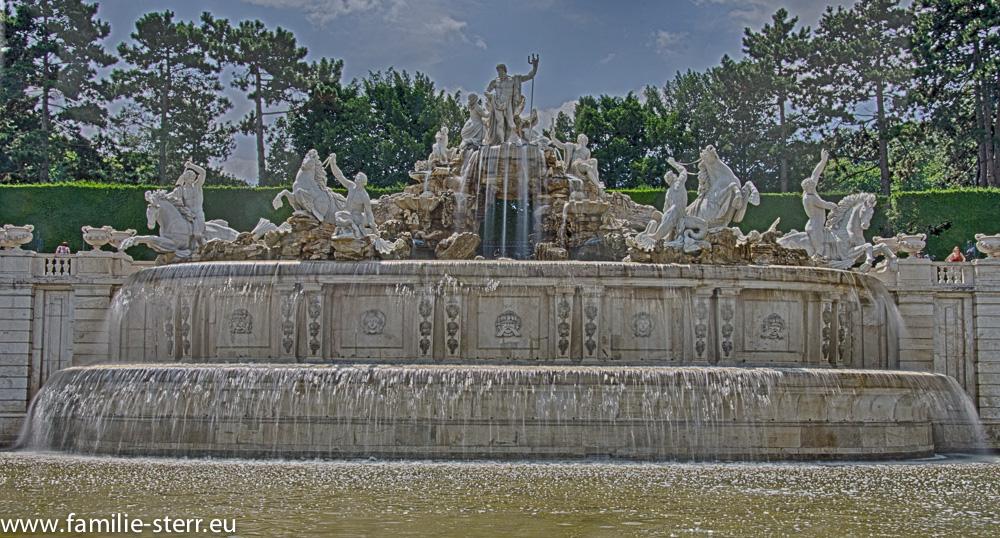Neptunbrunnen Schloss Schönbrunn