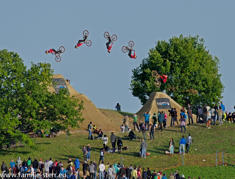 Moutainbike Slopestyle - X-Games München