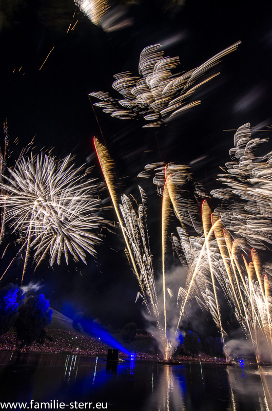 Sommernachtstrraum - Feuerwerk München 2013