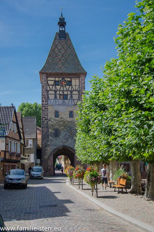 Bergheim / Elsass / Stadttor