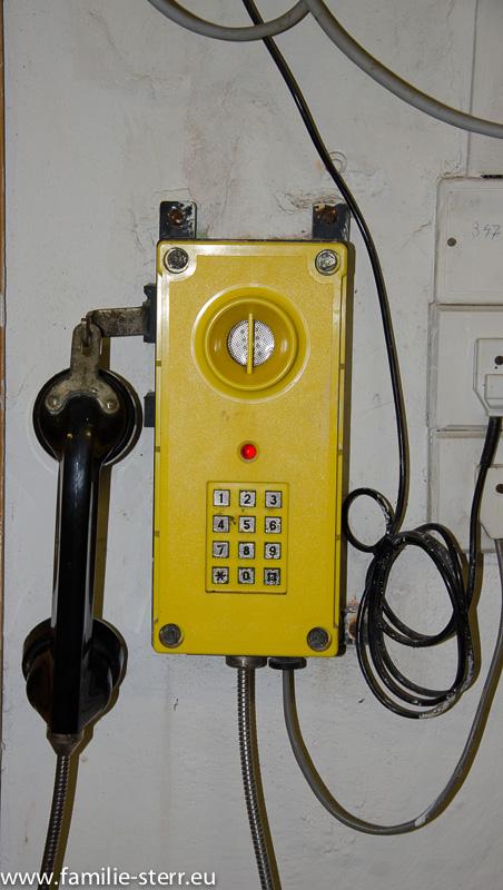 Brauerei Budweis, Notfall - Telefon
