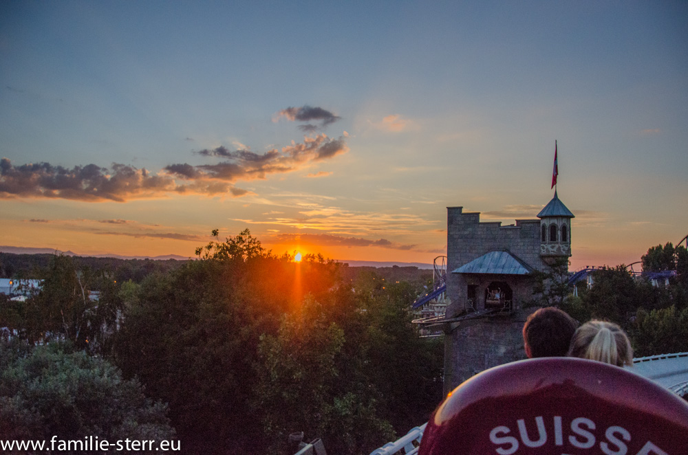 Sonnenuntergang / Europapark Rust / Bobbahn