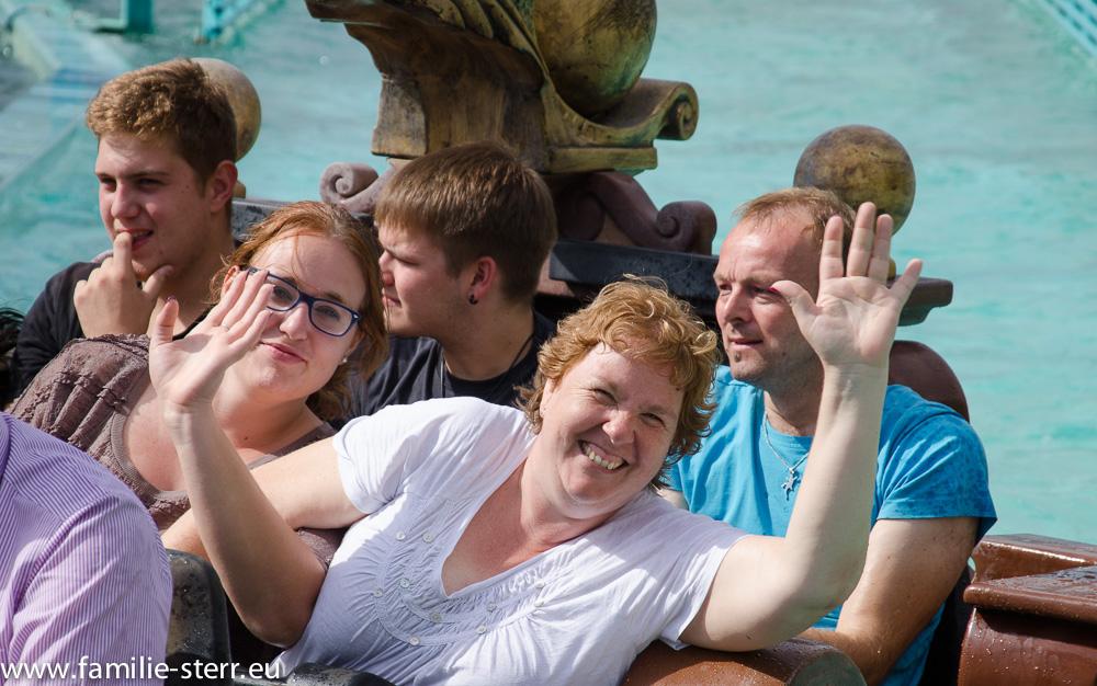 Astrid und Katharina / Europapark - Atlantica Super Splash