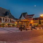 Molsheim / Stadtplatz bei Nacht