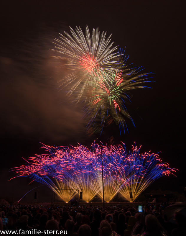 Feuerwerk Pyrogames in Erfurt