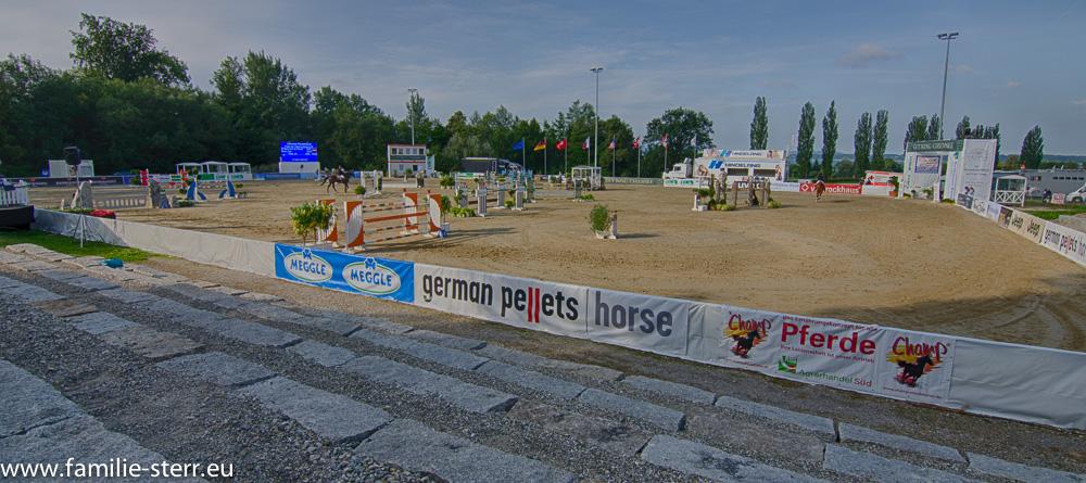 Parcours beim Chiemsee - Pferdefestival
