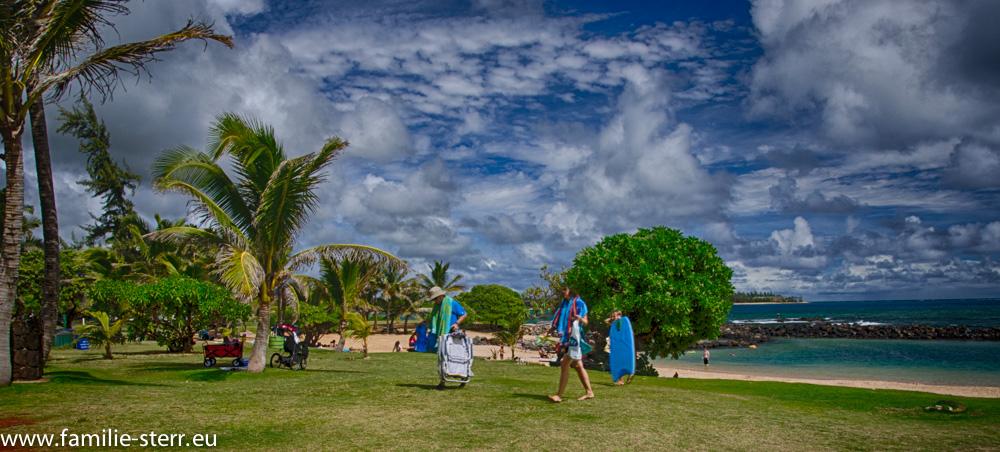Lydgate Beach Park / Kapaa / Kauai