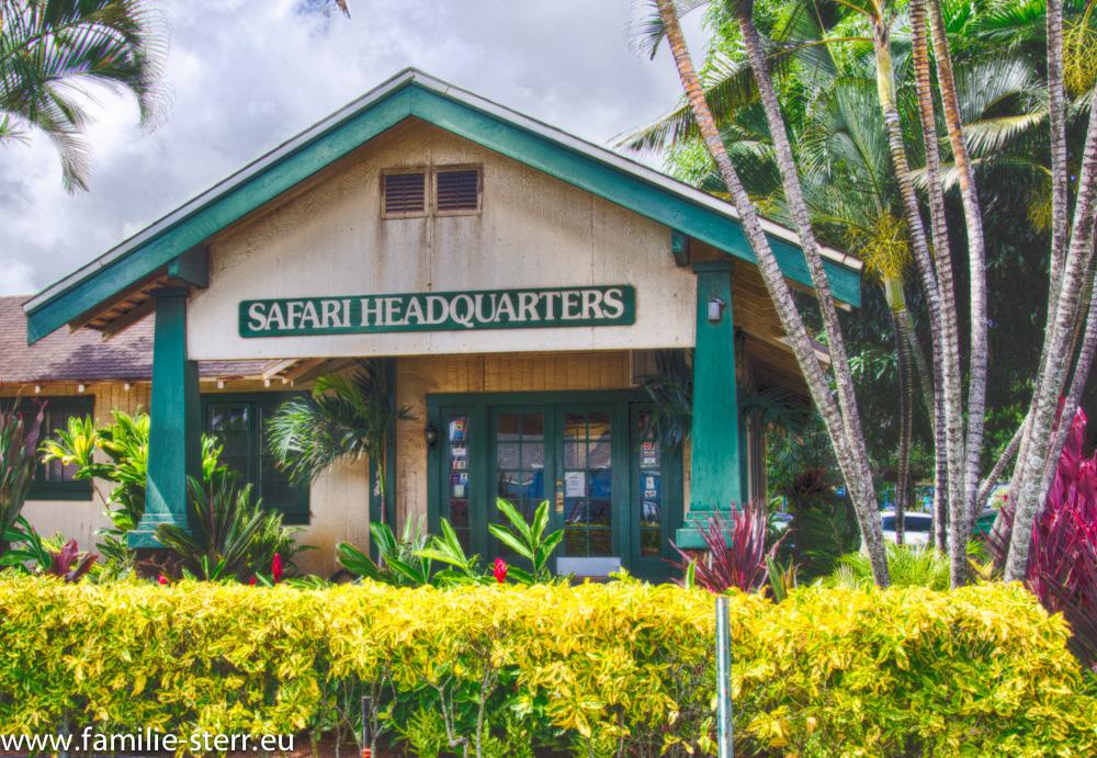 Büro Safari Helikopters / Lihue / Kauai