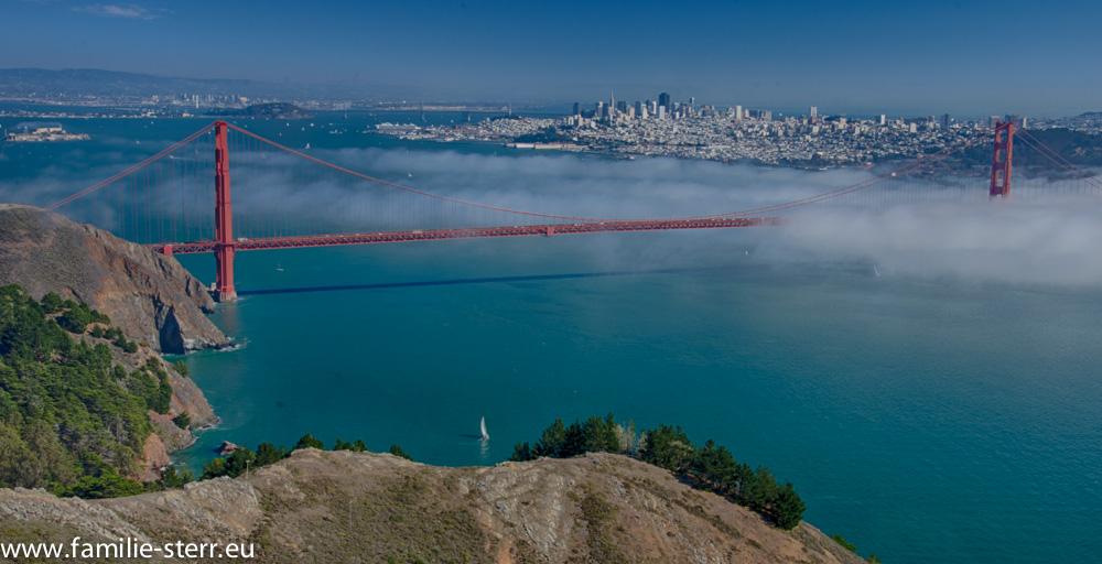 Golden Gate und San Francisco