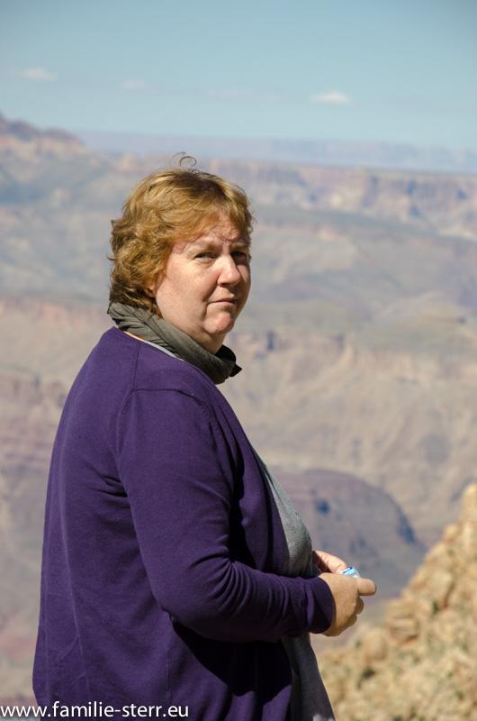 Astrid am Grand Canyon