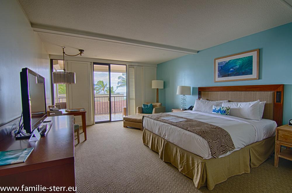 Unser Zimmer auf Oahu