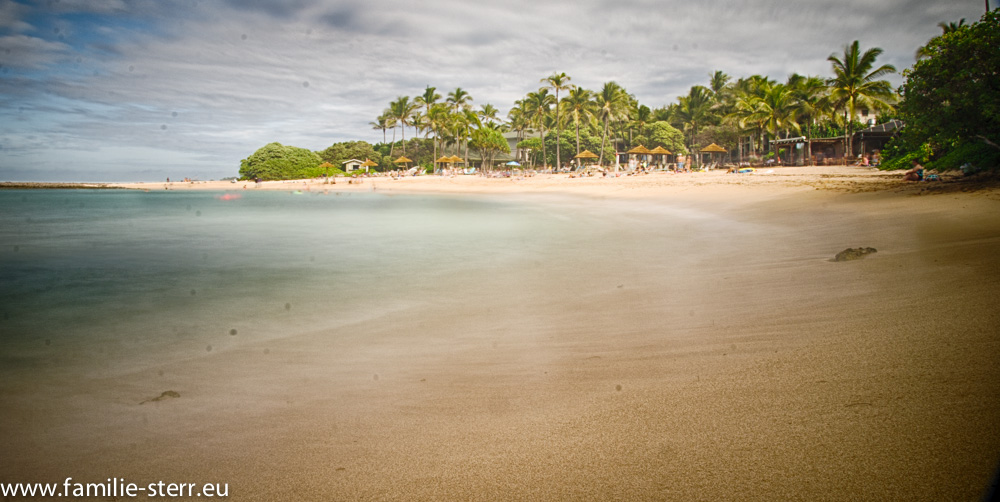 Badestrand an der North Shore / Oahu