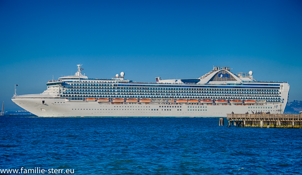 Grand Princess in der San Francisco Bay