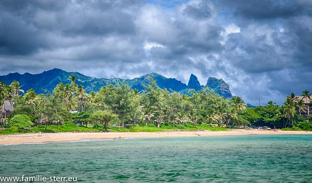Sleeping Giant vom Lydgate Sage Park / Kauai / Hawaii