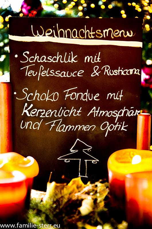 Weihnachtsmenü 2013