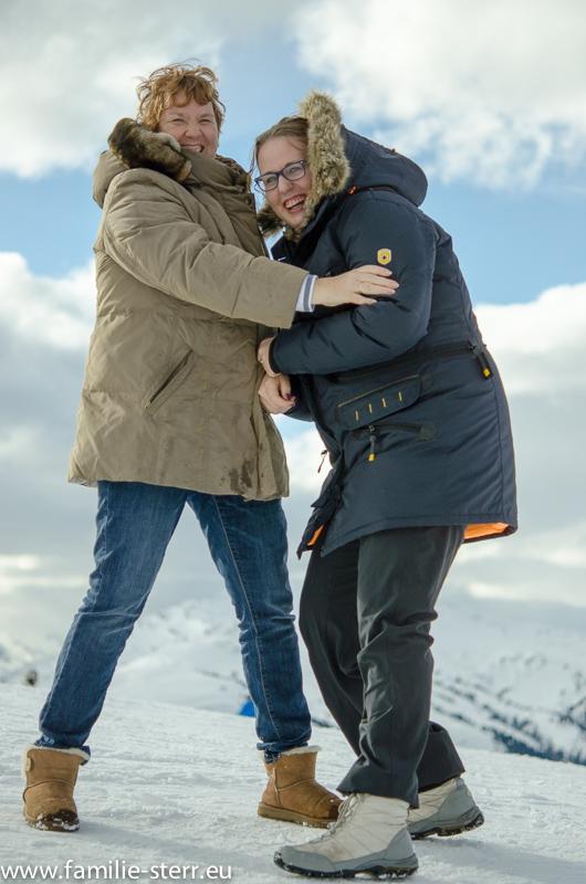 Astrid und Katharina auf der Resterhöhe